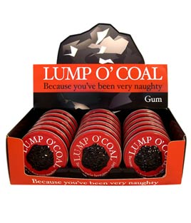 Coal for your naughty list