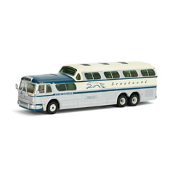 Greyhound Bus in HO Scale