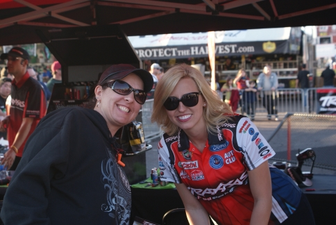 Brenda and Courtney Force