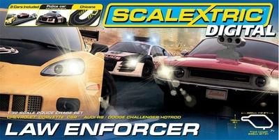 Law Enforcer 1/32 scale Digital Slot Car Set
