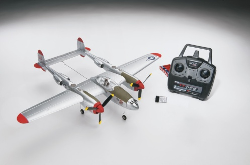Micro P-38 Ready-to-Fly
