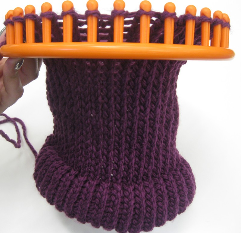 how to find end yarn loops and threads