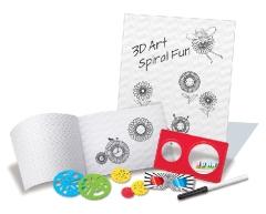 3D Spiral art box 7